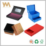 Impressão personalizada de jóias artesanais para a embalagem da caixa de oferta de papel