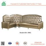 Sofá cama de sala de estar de estilo de moda nova com armazenamento