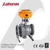 Wenzhou proveedor chino de la brida de prueba de explosión de la válvula de bola eléctrica