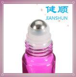 Aceite Esencial de vidrio Rollo en frasco de perfume de color rojo