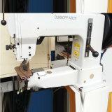 Máquina de costura usada do Moccasin da base do cilindro de Alemanha Durkopp Adler (DA-205)