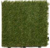 L'appui perméables tablier vert gazon synthétique pour le jardin de tuiles