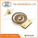 Выполненный на заказ замок давления замка ключа металла замка поворота замка закрутки