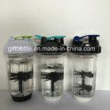 Neue patentierte Protein-Schüttel-Apparatflasche 500ml des Zoll-BPA frei