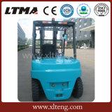 Vorkheftruck van 4 Ton van de Vorkheftruck van China de Nieuwe In werking gestelde Batterij