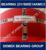큰 크기 금관 악기 감금소를 가진 둥근 롤러 베어링 231/560 E1akmc3