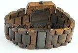 Деревянный вахта для вахты Zebrawood женщин людей сетноого-аналогов деревянного