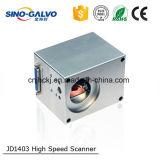 Pista tamaño pequeño/Galvonometer del Galvo de la abertura de Jd1403 9m m para la marca exacta del laser