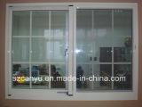 Высокий стандарт алюминиевых композитных деревянные окна безопасности