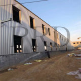 Structure en acier pré conçus pour l'entrepôt de métal préfabriquées/ atelier