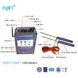 Pqwt-Tc900 Detector 1200m van het Water van de Lange Waaier de Detector van het Water Automapping