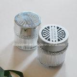 vaso crema delle estetiche acriliche di argento di 50g Matt con l'anello (PPC-NEW-102)