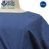 Blaues loses kurzes Hülsen-Gürtel Hinter-Reißverschluss Form-Frauen-Kleid