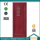 Angestrichene feste hölzerne Tür MDF-HDF mit hölzernem Furnier-Blatt
