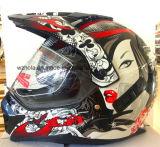 최신 판매 기관자전차 Accessories&Parts 방어적인 Grears 의 크로스 컨츄리 헬멧 자전거 경주