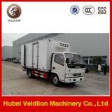 Foton 4x2 mini van de camions frigorifiques pour la vente de la capacité de 4 tonnes