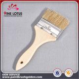 Головка краткости щетинки высокого качества чисто с деревянной щеткой краски ручки