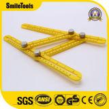 Инструмент шаблона правителя угла новой конструкции пластичный Multi с ручками металла