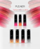 Pudaier21カラーマットはコップを無光沢の不変の液体の口紅の構成衰退しないリップの光沢のスタックしない