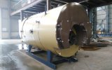 3 t-Industrie-horizontaler ölbefeuerter kondensierender Dampfkessel