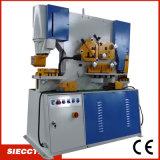 Trabalhador hidráulico do ferro de placa do metal do Ironworker de Siecc Q35y- 25 com perfurador/função combinada tesoura