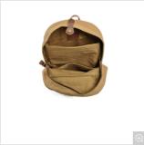 Sacchetto impermeabile dello zaino del banco della tela di canapa dello Zaino dell'allievo di Leisurre