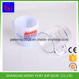 Пластмассовый сосуд одноразовые чашки кофе кружки 12 унции посуда с ручками