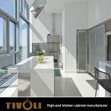 新しいデザイン白いLacueringのシェーカー様式の食器棚Tivo-D0050h
