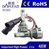 5500K 4800lm 9005 Serie LED-Auto-Licht-