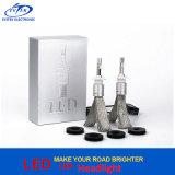 차 부속 크리 사람 Xhp-50 40W 4800lm R3 4800lm H7 LED 헤드라이트 6000k