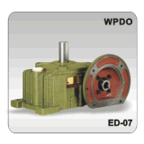Riduttore di velocità della scatola ingranaggi della vite senza fine di Wpdo 200