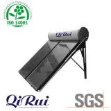 Calentador de agua solar de panel plano de presión compacta