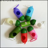 كلب [بوو] حقيبة موزّع/عظم شكل كيس من البلاستيك موزّع/محبوب منتوج