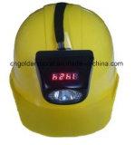 デジタルおよび携帯用(b) LEDの採鉱安全ヘッドランプKl4.5lm炭鉱ライトヘッドランプ
