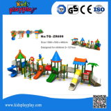 2016 Castle Series Commercial Outdoor Playground Equipamento Kid Plastic