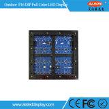 P16 de cor total imersão Visor LED fixo exterior para publicidade