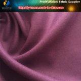 Ткань вереска полиэфира серая почищенная щеткой, Two-Tone ткань полиэфира