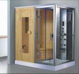 シャワー(AT-D8856-1)との1800mmの蒸気によって結合されるサウナ