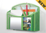 Los elementos de decoración de Oficina y papelería de malla metálica Hanaging magnético/ Oficina Accesorios de escritorio