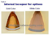 専門の毛の停止のクリーム色の空の折りたたみアルミニウム管を包む化粧品