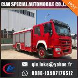 HOWO 12000L Water Tank Fire Truck
