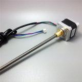 3Dプリンター42mm線形ねじ段階モーター、鉛ねじが付いている線形アクチュエーターモーター、