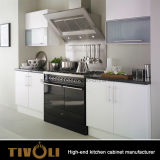 Мебель кухни лоска роскошных неофициальных советников президента высокая с европейской конструкцией Tivo-0186h