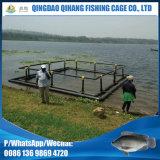 HDPE cultivant des cages de mer de cage de réseau de poisson jeune de poissons