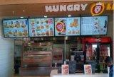 """32 """"レストランまたは喫茶店または棒デジタルメニューボードに使用する壁の台紙LCDの広告"""