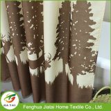Custom Tree Pattern Oversized tende da doccia Extra Long