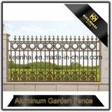 卸し売り及び低価格の庭のための粉によって塗られる鋳造物の黒のアルミニウム塀