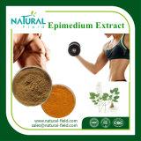 Порошок CAS Icariin дополнения здравоохранения: 489-32-7 выдержка Epimedium