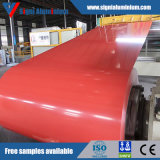 la Bobine Couleur Revêtus D'aluminium PE/PVDF1100 8011 3003 5052