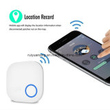 Bluetooth GPS Anti-lost Tracker Tracking Wallet Key Tracer Finder (Blanc)